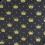 Bandana Profissional Majestade - Preto com Dourado