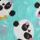 Bandana Profissional Panda - Verde