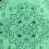Touca Elástica Profissional Arabesco - Verde claro com Aba Verde Escuro