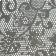 Bandana Profissional Renda - Branca estampa preta