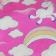 Bandana Profissional Unicórnio - Pink