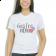 Camiseta Baby Look Feminina Gastronomia - Branca