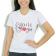 Camiseta Baby Look Feminina Odonto - Branca