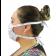 Máscara Profissional Reutilizável Dental - Rosa
