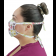 Máscara Profissional Reutilizável Borboletas - Branca