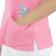 Scrubs Blusa Decote V Manga Curta - Rosa Sandia - Estampa Gatinhos