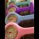 Relógio de Jaleco Silicone - Lilás