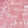 Touca Elástica Profissional Coffee e Cupcake - Rosa com Aba Branca