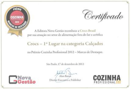 Prêmio Crocs Bistrô